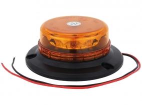 Gyrophare LED orange fixation 3 points extra plat AdLuminis