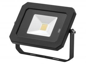 Projecteur LED AdLuminis 20 W 1600 lumens noir avec détecteur de mouvement intégré