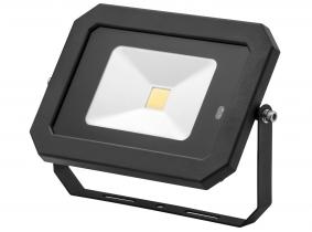 Projecteur LED AdLuminis 30 W 2 400 lumens noir avec détecteur de mouvement intégré