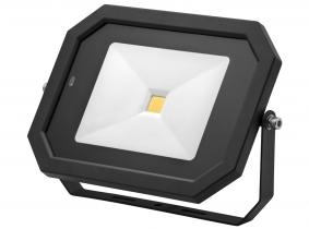 Projecteur LED AdLuminis 50 W 4000 lumens noir avec détecteur de mouvement intégré