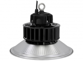Cloche LED high bay 100W 13.000lm LED Philips suspension industrielle AdLuminis