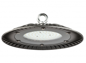 Cloche LED UFO high bay 60W 6000lm suspension industrielle AdLuminis