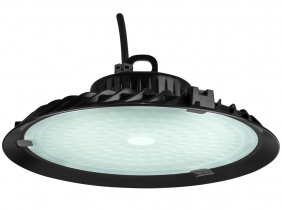 Cloche LED UFO high bay 100W 9.500lm suspension industrielle AdLuminis
