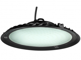 Cloche LED UFO high bay 150W 13.500lm suspension industrielle AdLuminis