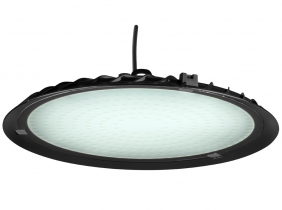 Cloche LED UFO high bay 200W 19.900lm suspension industrielle AdLuminis