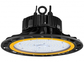 Cloche LED UFO high bay 150W 20.500lm dimmable suspension industrielle AdLuminis